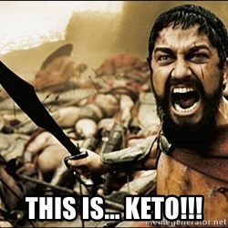 This Is Sparta Meme - This is... KEto!!!