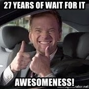 Barney Stinson - 27 years of wait for it awesomeness!
