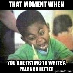 Black kid coloring - That moment when you are Trying to write a palanca letter