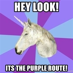 ASMR Unicorn - Hey look!  Its the purple route!