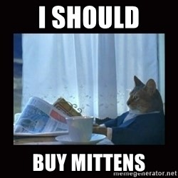i should buy a boat cat - I should buy mittens