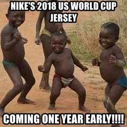 Dancing African Kid - Nike's 2018 US World Cup Jersey Coming One year early!!!!