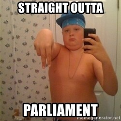 Cookie Gangster - Straight Outta parliament