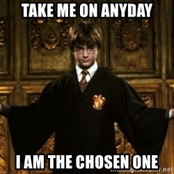 Harry Potter Come At Me Bro - take me on anyday i am the chosen one