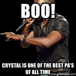 Kanye West - boo! cRYSTAL IS ONE OF THE BEST pa'S OF all tiME