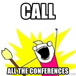 x all the y - CALL ALL The conferences