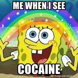 Imagination - Me When i see cocaine