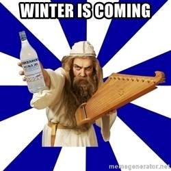 FinnishProblems - Winter is coming