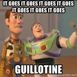 Buzz - IT GOES IT GOES IT GOES IT GOES IT GOES IT GOES IT GOES GUILLOTINE