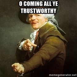 Ducreux - O coming all ye trustworthy