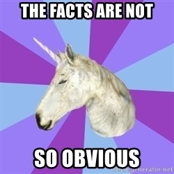 ASMR Unicorn - The facts are not So obvious