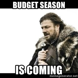 Winter is Coming - Budget season Is coming