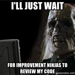 OP will surely deliver skeleton - i'll just wait for improvement ninjas to review my code