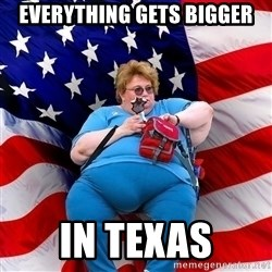 Obese American - Everything gets bigger in texas