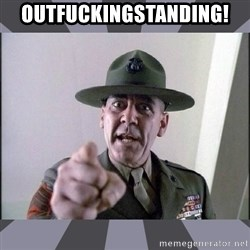 R. Lee Ermey - outfuckingstanding!