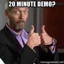 cool story bro house - 20 minute demo?