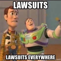Buzz - Lawsuits lawsuits everywhere