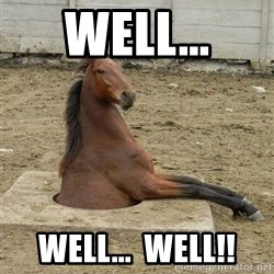 Hole Horse - Well... Well...  WELL!!