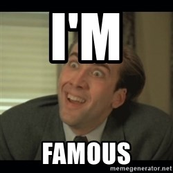Nick Cage - I'M  Famous