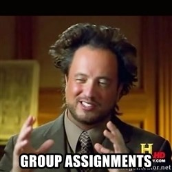 History guy - group assignments