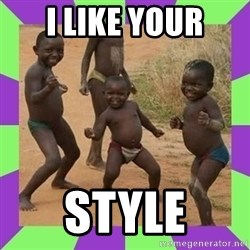 african kids dancing - I like your Style