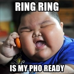 Fat Asian Kid - RING RING IS MY PHO READY