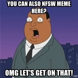 ollie williams - You can also nfsw meme here? omg let's get on that!