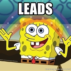 spongebob rainbow - leads