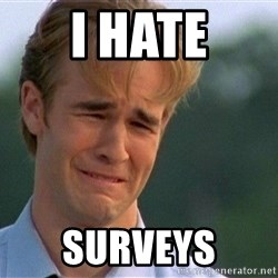 Dawson Crying - I Hate Surveys