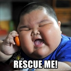 Fat Asian Kid - Rescue me!