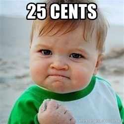 Victory Baby - 25 cents