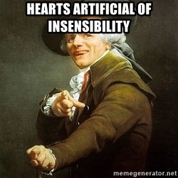 Ducreux - Hearts artificial of insensibility