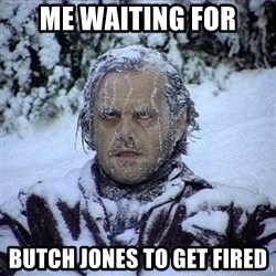 Frozen Jack - Me waiting for Butch Jones to get fired
