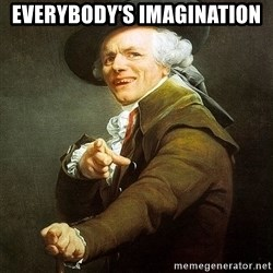 Ducreux - Everybody's imagination