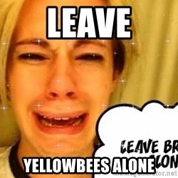 leave britney alone - LEAVE YELLOWBEES ALONE