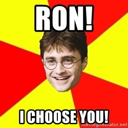 cheeky harry potter - Ron! I Choose You!