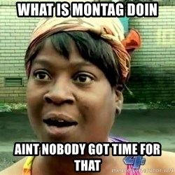 oh lord jesus it's a fire! - What is montag doin Aint nobody got time for that