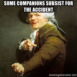 Ducreux - Some companions subsist for the accident