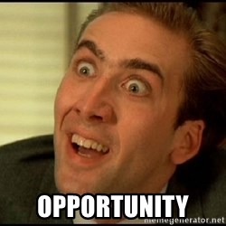 You Don't Say Nicholas Cage - opportunity