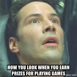 i know kung fu - how you look when you earn prizes for playing games