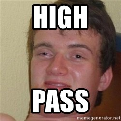 really high guy - High Pass