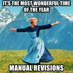 Sound Of Music Lady - It's the most wonderful time of the year Manual revisions