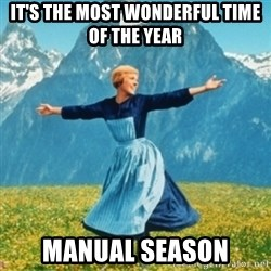 Sound Of Music Lady - it's the most wonderful time of the year manual season