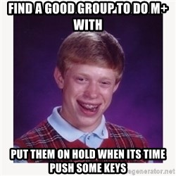nerdy kid lolz - find a good group to do m+ with put them on hold when its time push some keys
