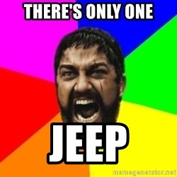 sparta - THERE'S ONLY ONE JEEP