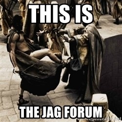sparta kick - This is the JAG FORUM