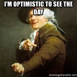 Ducreux - I'm optimistic to see the day