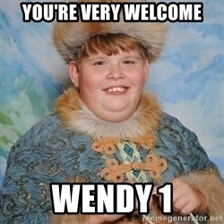 welcome to the internet i'll be your guide - YoU're very welcome Wendy 1