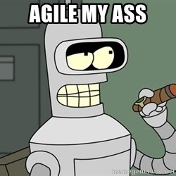 Typical Bender - Agile my Ass