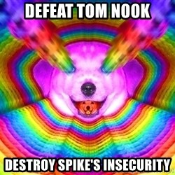 Final Advice Dog - Defeat tom nook Destroy spike's insecurity